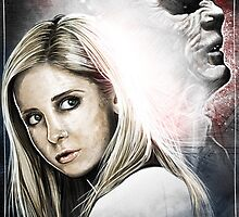 Buffy and The Master by simonthegreat