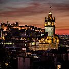 Another Edinburgh Sunset by Ian Coyle