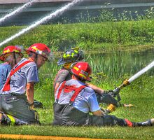 "A Not So ""Dry"" Run at the Westerlo Fire Department by Edith Reynolds"