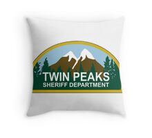 Twin peaks Throw Pillow