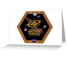 James Webb Space Telescope - NASA Program Logo Greeting Card