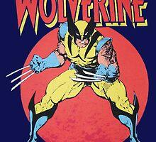 Wolverine Retro Comic by zamora
