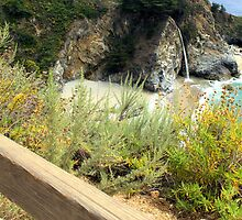 Majestic little cove -Big Sur, CA by MarthaBurns
