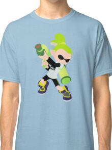 Inkling Boy (Green) - Splatoon Classic T-Shirt