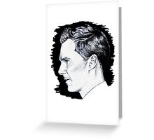 Cumberbatch Drawing Greeting Card