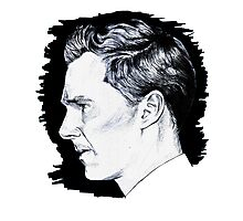 Cumberbatch Drawing Photographic Print