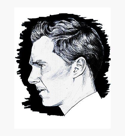 Cumberbatch Drawing Photographic Print