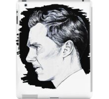 Cumberbatch Drawing iPad Case/Skin