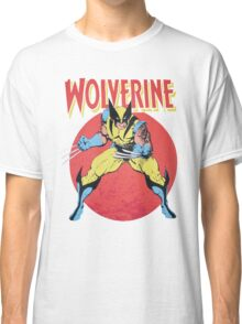 Wolverine Retro Comic Classic T-Shirt