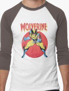 Wolverine Retro Comic Men's Baseball ¾ T-Shirt