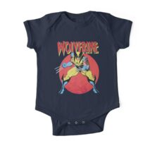 Wolverine Retro Comic One Piece - Short Sleeve