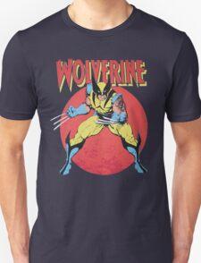 Wolverine Retro Comic Unisex T-Shirt
