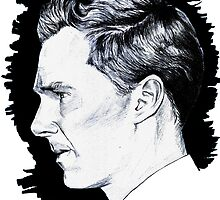 Cumberbatch Drawing by palomedridista
