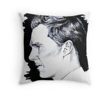 Cumberbatch Drawing Throw Pillow