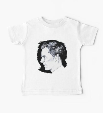 Cumberbatch Drawing Baby Tee