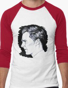 Cumberbatch Drawing Men's Baseball ¾ T-Shirt