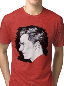 Cumberbatch Drawing Tri-blend T-Shirt