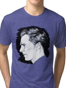 Cumberbatch Drawing Tri-blend T-Shirt