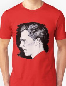 Cumberbatch Drawing Unisex T-Shirt