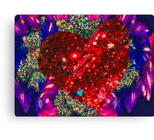 Love on my mind Canvas Print