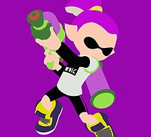 Inkling Boy (Purple) - Splatoon by samaran