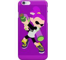 Inkling Boy (Purple) - Splatoon iPhone Case/Skin