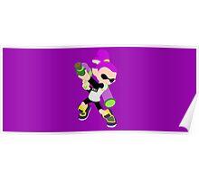 Inkling Boy (Purple) - Splatoon Poster