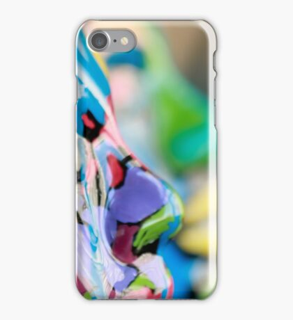 Painted Masks by Chicago Artist Gary Bradley iPhone Case/Skin