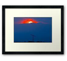 Wind energy Framed Print