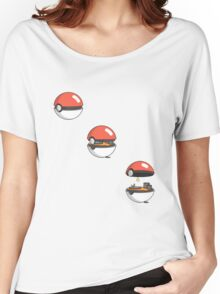 Inside the Pokeball Women's Relaxed Fit T-Shirt