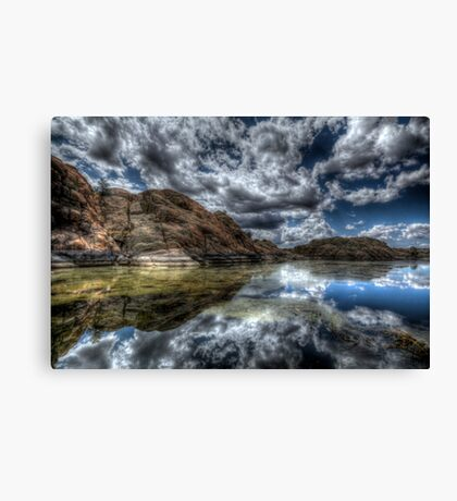 Split The Difference Canvas Print