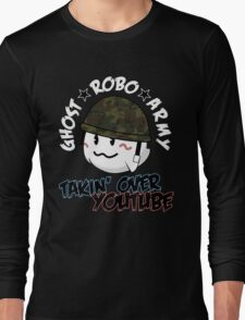 The GhostRobo Army Long Sleeve T-Shirt