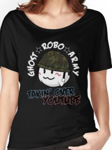 The GhostRobo Army Women's Relaxed Fit T-Shirt