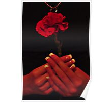 One Rose Poster