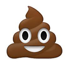 Poop Emoji Photographic Print