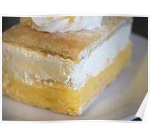 Food-Vanilla Slice Poster