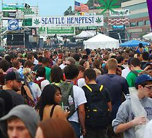 Welcome to Seattle Hempfest by FloraDiabla
