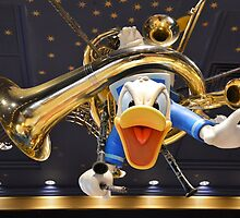 Disney Donald Duck Angry Duck Musical Donald by notheothereye