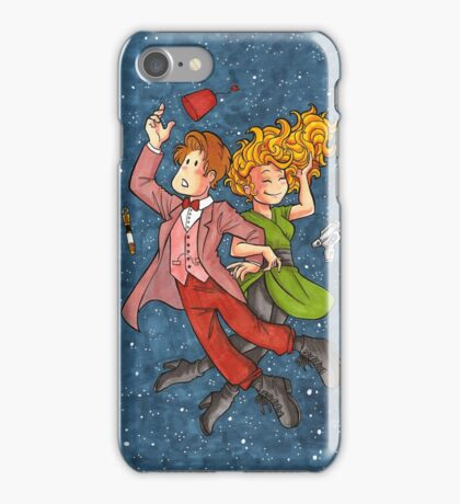 Doctor and River in Space iPhone Case/Skin