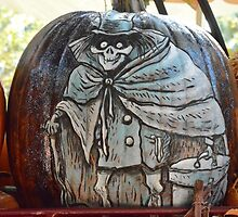Disney Haunted Mansion Halloween Hat Box Ghost by notheothereye