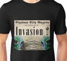 invasion of aliens everywhere Unisex T-Shirt