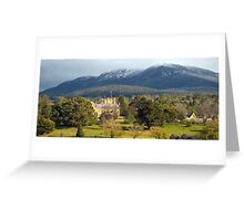Government House, Hobart Greeting Card