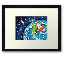 Earth Planet 3 Framed Print