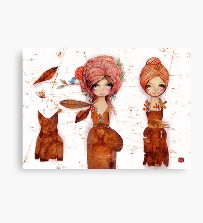 teabag couture Canvas Print