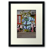 Spaced Man Framed Print