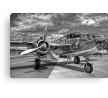 North American B-25J Mitchell Canvas Print