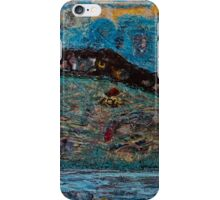 Acrylic Painting on Wood by Chicago Artist Gary Bradley iPhone Case/Skin