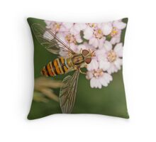 Marmalade Fly Throw Pillow