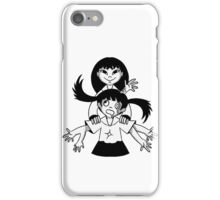 Monochrome Sisters iPhone Case/Skin
