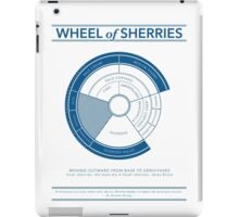 The Wheel of Sherries iPad Case/Skin
